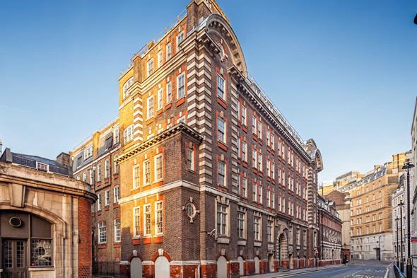 Pictured is the former Great Scotland building in Whitehall.  The site of the first Met Police station where officers hunted Jack the Ripper is to be transformed into a five-star hotel with GBP10,000-A-NIGHT rooms.  See SWNS story SWPOLICE.  Great Scotland Yard in Whitehall was the headquarters of London?s newly formed police force from 1829 to 1890.   Officers investigated Jack the Ripper and the Plaistow murders from the base while Charles Dickens and Arthur Conan Doyle would regularly write about the top cop shop.  It later became a library for the Ministry of Defence but it was revealed yesterday (Sun) the Crown estate had struck a deal with a property developer to turn it into a super-posh hotel.   The Galliard Group has acquired a 125 year lease on the seven-storey building and plan to turn it into a GBP100 million hotel with 235 bedrooms and suites.  It will boast a grand entrance foyer, winter garden lounge, signature restaurant, cocktail bar and lounge, second lounge, library, 120 seater main conference room/ballroom, meeting rooms and function/private dining rooms.   There will also be special super-VIP suites for the richest of the rich - with the rooms costing a whopping GBP10,000 a night and putting them amongst the most expensive in the world.