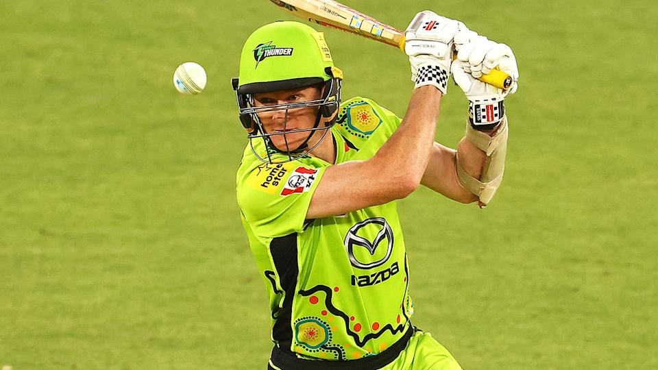 Sydney Thunder's Brendan Doggett has lent his support to the BBL's efforts to acknowledge Indigenous history. (Photo by Paul Kane/Getty Images)