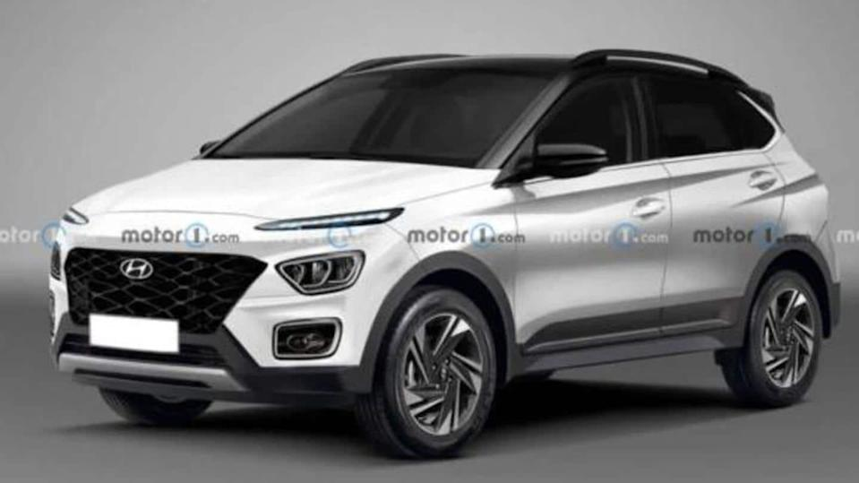 Hyundai Bayon crossover teased; to be launched in 2021