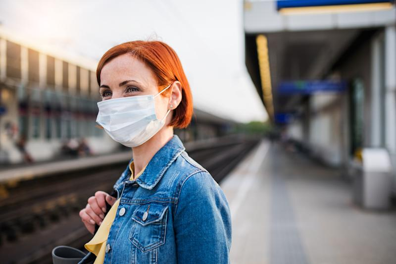 The wearing of face masks could be causing conflict within households. (Getty Images)