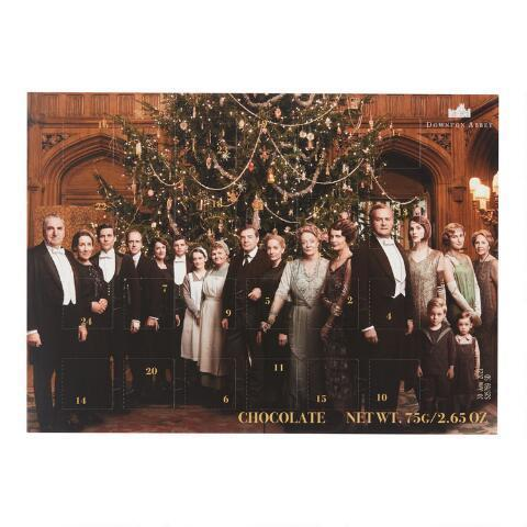 "<h3><a href=""https://www.worldmarket.com/product/downton+abbey+chocolate+advent+calendar.do"" rel=""nofollow noopener"" target=""_blank"" data-ylk=""slk:Downton Abbey Chocolate Advent Calendar"" class=""link rapid-noclick-resp"">Downton Abbey Chocolate Advent Calendar</a></h3><br>Nothing says, ""Welcome to Downton,"" like a licensed chocolate advent calendar, right? Count down(ton) the days until December 25 with this World Market exclusive item, which can be yours for a reasonable $6.99.<br><br><br><br><strong>Cost Plus</strong> Downton Abbey Chocolate Advent Calendar, $, available at <a href=""https://www.amazon.com/Downton-Abbey-Chocolate-Advent-Calendar/dp/B07YXKP5FH/ref=sr_1_33?keywords=themed+advent+calendar&qid=1571951368&sr=8-33"" rel=""nofollow noopener"" target=""_blank"" data-ylk=""slk:World Market"" class=""link rapid-noclick-resp"">World Market</a>"