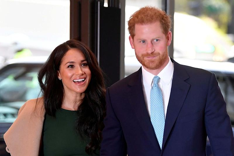 Prince Harry and Meghan, Duchess of Sussex: REUTERS