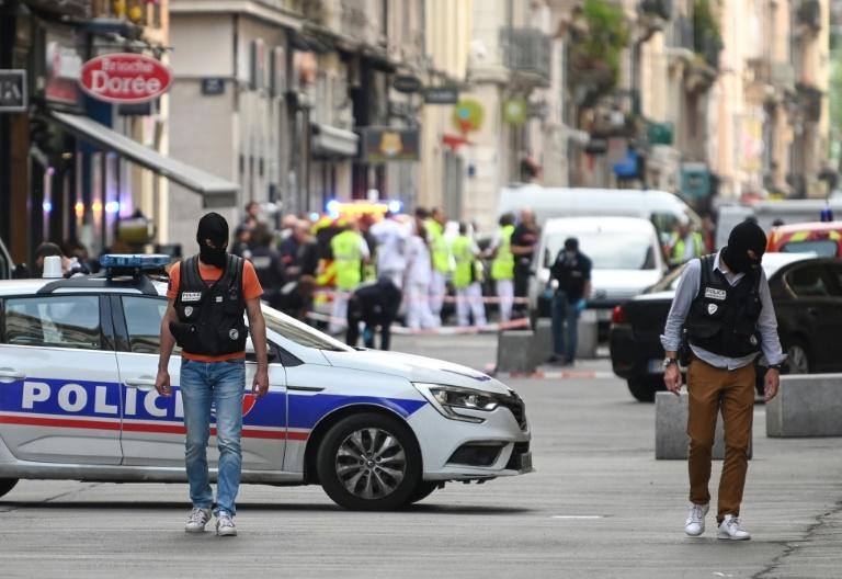 Investigators recovered small screws, ball bearings and batteries along with a remote-controlled trigger device near the site of the blast in Lyon