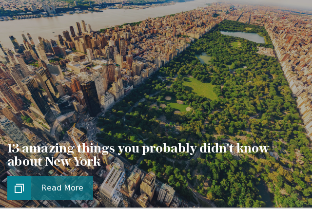 Amazing things you probably didn't know about New York