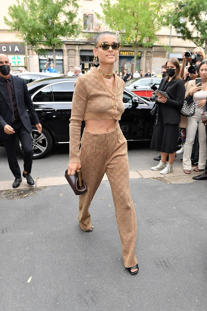 <p>We aspire to be the Jordan-Alexander-strolling-into-the-Fendi-spring-show level of chic.</p>