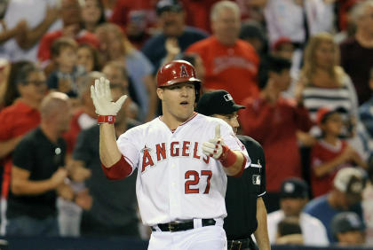 Angels center fielder Mike Trout is having another special season. (USA TODAY Sports)