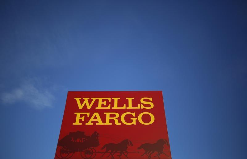 Wells Fargo branch is seen in the Chicago suburb of Evanston Illinois