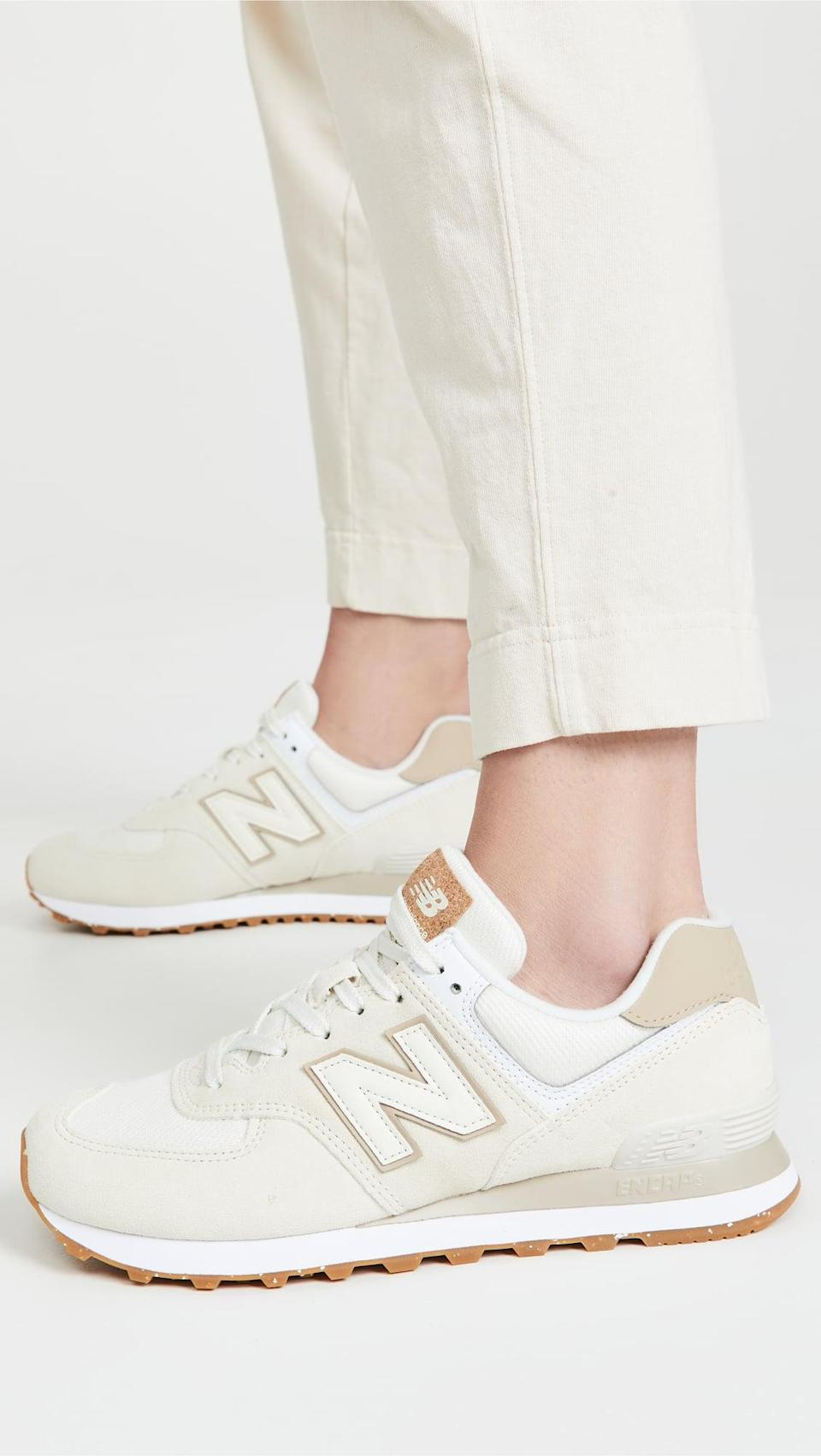 <p>These cute <span>New Balance 574 Classic Sneakers</span> ($80) prove everything old is new again. They go with everything, and will be a summer staple.</p>