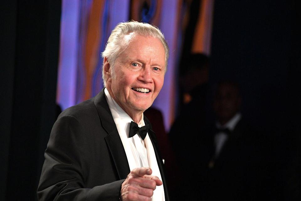 """<p>The actor consistently <a href=""""https://twitter.com/jonvoight/status/1296809701225533447"""" rel=""""nofollow noopener"""" target=""""_blank"""" data-ylk=""""slk:posts his admiration"""" class=""""link rapid-noclick-resp"""">posts his admiration </a>of the Trump administration on social media, asking his followers to join him in re-electing the Republican candidate in November. </p>"""