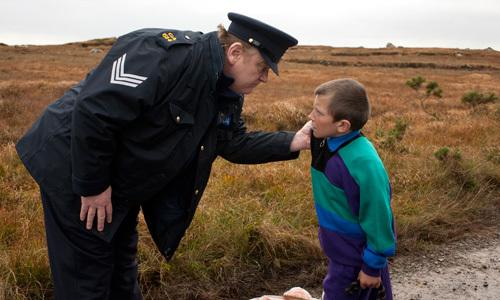 <p>A longtime policeman in County Galway, Boyle is a maverick with his own moral code. He has seen enough of the world to know there isn't much to it and has had plenty of time to think about it.</p>