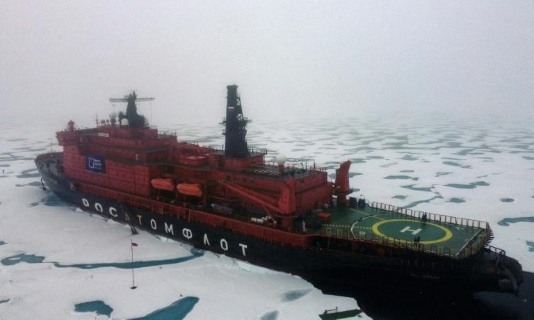 Moscow sees the development of the Arctic as a historic mission (AFP/Ekaterina ANISIMOVA)