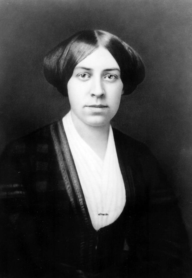 """The eldest of the Alcott sisters, Anna was born March 16, 1831, and like her fictional counterpart, initially harbored dreams of a life on the stage; together she and Louisa were founding members of the Concord Dramatic Union in 1858. Also like Meg, Anna worked as a governess before falling in love — in Anna's case with John Bridge Pratt, also a member of the acting troupe. They married in 1860.  Louisa was disappointed with the news of their engagement, writing in her journal: """"I moaned in private over my great loss, and said I'd never forgive J. for taking Anna from me; but I shall if he makes her happy, and turn to little May for comfort."""" The couple, who had two sons, Frederick and John Jr., were happy together until John's untimely demise in 1870. With earnings from her writing, Louisa helped Anna purchase the Thoreau House on Main Street in Concord, where Anna lived until her death on July 17, 1893."""