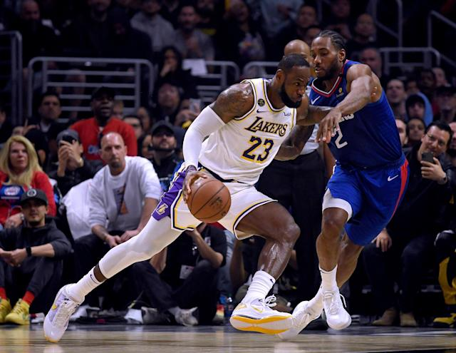 The Lakers had their best weekend of the season with wins over the Clippers and Bucks. (Harry How/Getty Images)