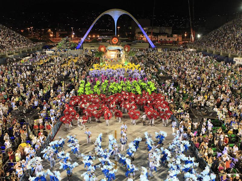 There are more than 200 different Samba schools that participate in the Rio Carnival