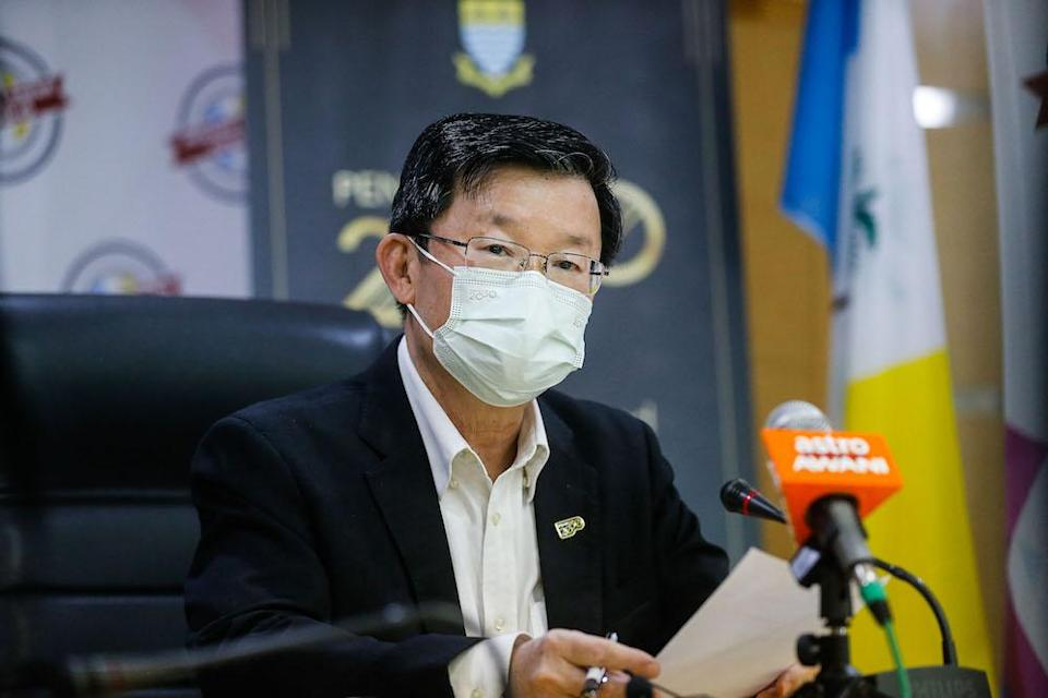 Penang Chief Minister Chow Kon Yeow said Lam Research is the first wafer fabrication equipment maker to set up their business operations with a manufacturing plant in Malaysia. — Picture by Sayuti Zainudin
