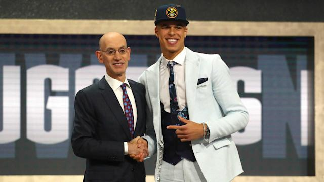 Porter slid to Denver at No. 14 in the NBA Draft because of concerns over ongoing back issues after he was limited to three games at Mizzou.