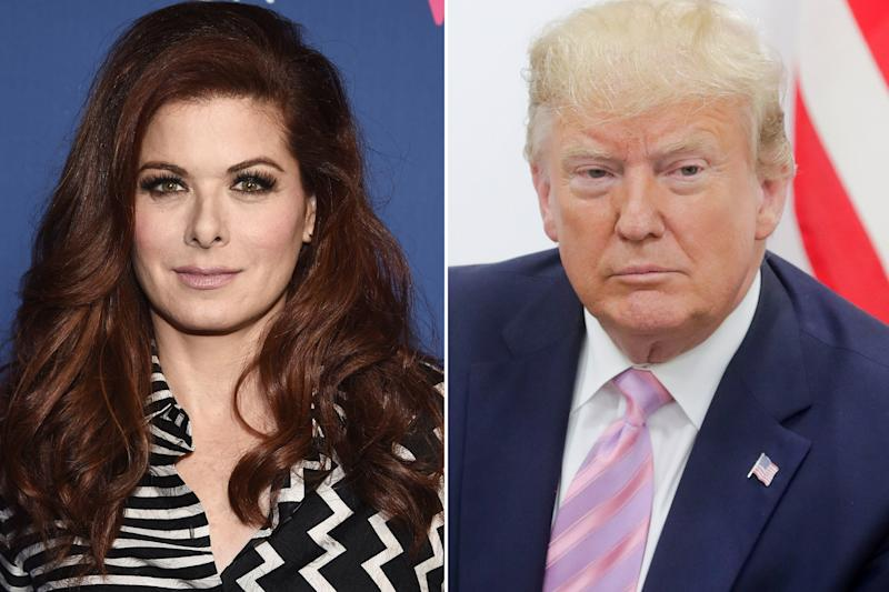 Debra Messing slams Trump and turns his tweet about her into call for action
