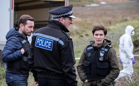 Vicky McClure in her day job on Line of Duty - Credit: BBC