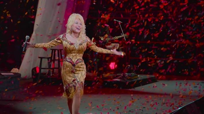 "<div class=""inline-image__title"">DOLLY PARTON: A MUSICARES TRIBUTE</div> <div class=""inline-image__credit"">COURTESY OF NETFLIX</div>"
