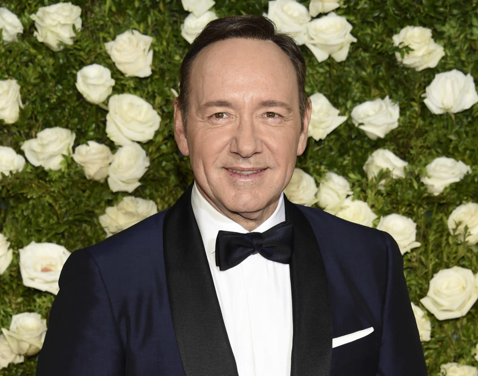 Kevin Spacey is reportedly being investigated by Scotland Yard for a second sexual assault claim (Photo by Evan Agostini/Invision/AP, File)