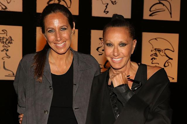 Gabby Karan De Felice and fashion designer Donna Karan attend the Urban Zen NYFW Presentation at Urban Zen on Sept. 6, 2017, in New York City. (Photo by Mireya Acierto/Getty Images for Urban Zen)