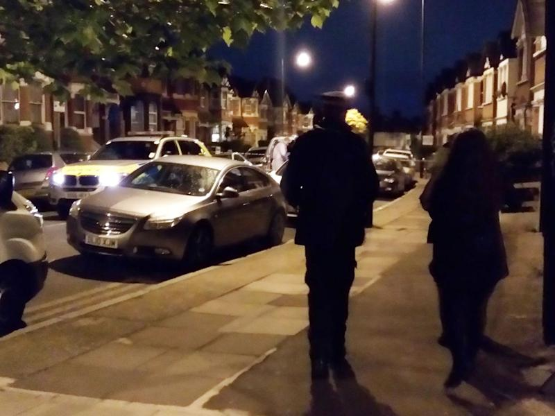 Police conducting their operation late on Thursday evening: Jakub Krupa