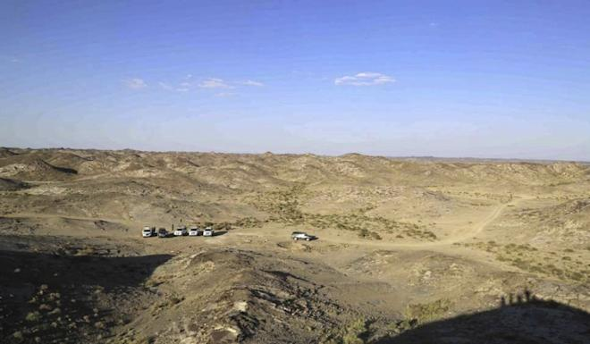 The facility will be built in a remote part of Gansu province. Photo: Handout