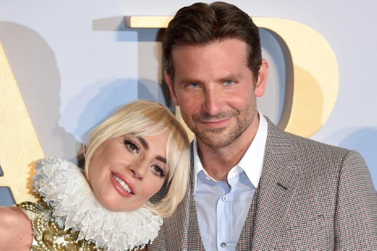 "Lady Gaga (L) and Bradley Cooper -- seen at the London premiere of ""A Star is Born"" in September 2018 -- each earned two Golden Globe nominations"