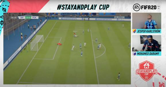 EA's Stay and Play Cup for FIFA 20.
