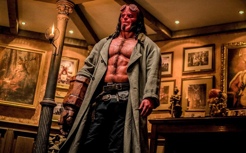 David Harbour as Hellboy (Credit: Lionsgate)