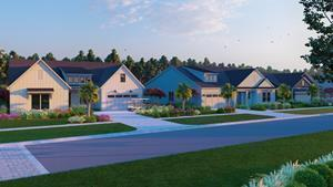 The future Toll Brothers model row at Riverton Pointe in Hardeeville, S.C.