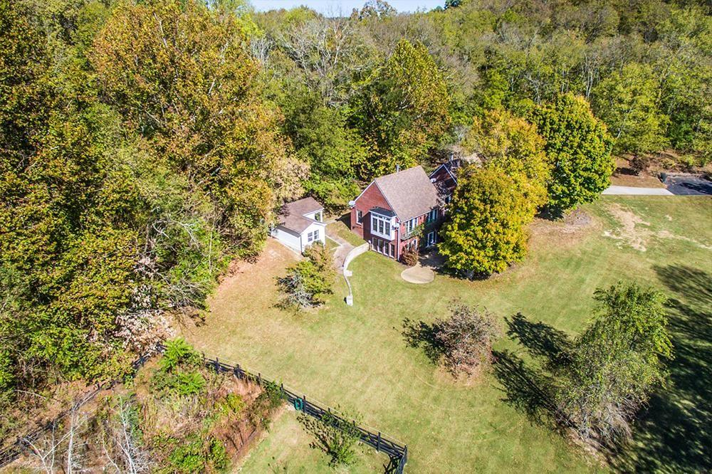 The rustic property is on 5,086 square feet of land