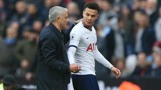 Dele Alli was criticised after sharing a video appearing to joke about the coronavirus, but Jose Mourinho now considers the matter over.
