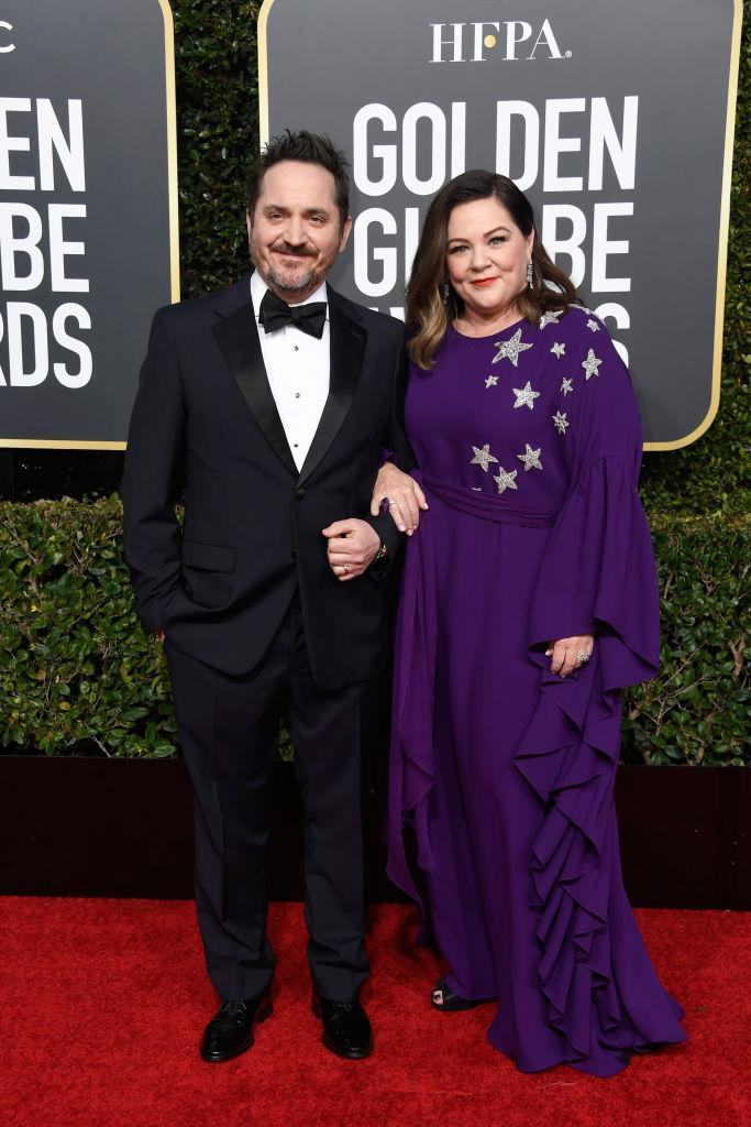 <p>Ben Falcone (L) and Melissa McCarthy attend the 76th Annual Golden Globe Awards at the Beverly Hilton Hotel in Beverly Hills, Calif., on Jan. 6, 2019. (Photo: Getty Images) </p>
