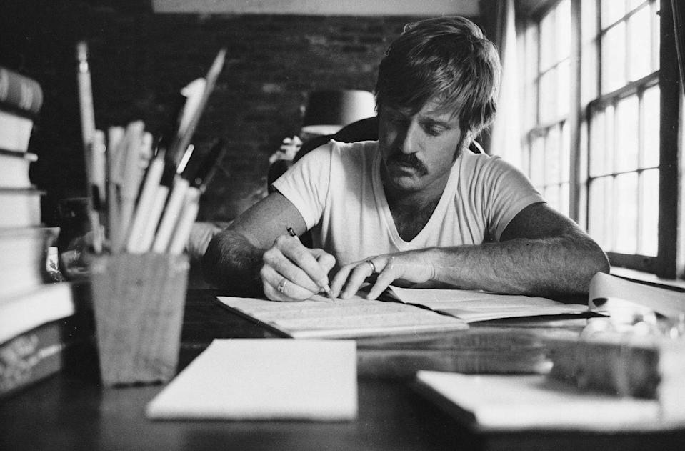<p>Robert Redford photographed in Utah in February 1970.</p>