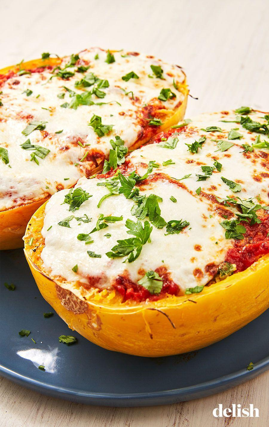 """<p>Put that squash to good use with a cheesy, saucy dinner.</p><p>Get the recipe from <a href=""""https://www.delish.com/cooking/recipe-ideas/a27345958/instant-pot-spaghetti-squash-recipe/"""" rel=""""nofollow noopener"""" target=""""_blank"""" data-ylk=""""slk:Delish"""" class=""""link rapid-noclick-resp"""">Delish</a>.</p>"""