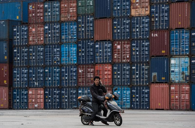 China exports beat forecasts, up almost 8% in January