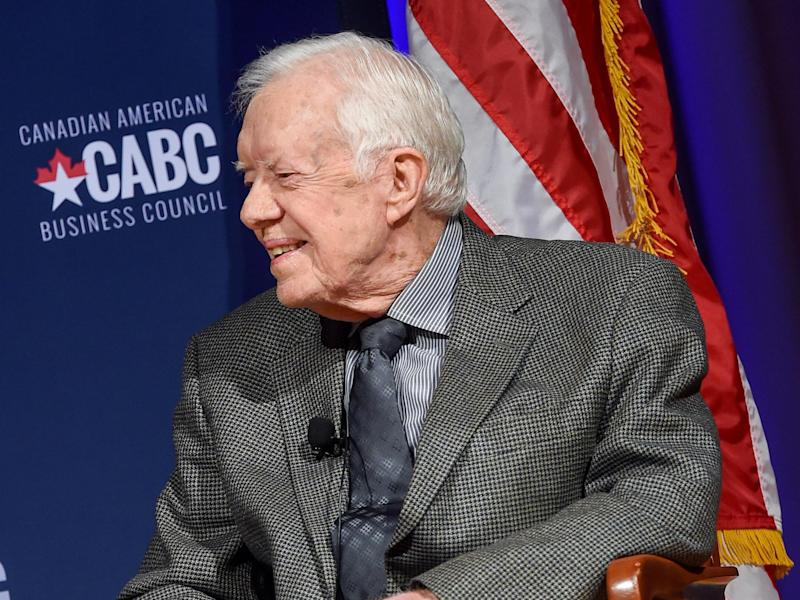 Former US President Jimmy Carter: Getty Images for Canadian Americ