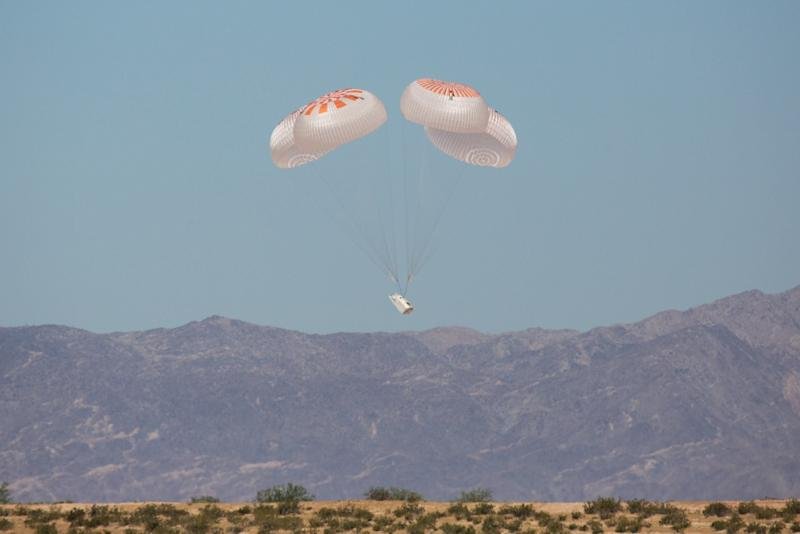 SpaceX completes last parachute test ahead of Crew Dragon test flight