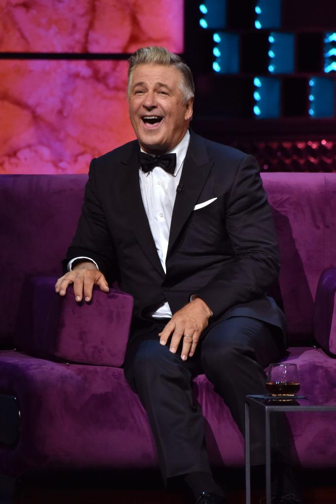 Alec Baldwin laughs at the Comedy Central Roast of Alec Baldwin. (Photo: Jeff Kravitz/FilmMagic)