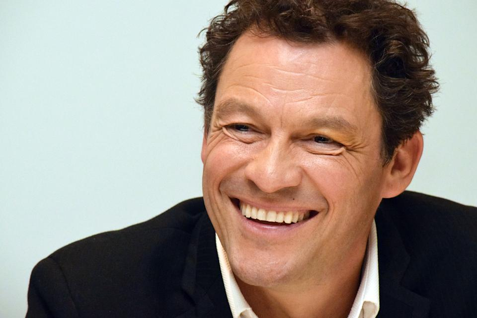 "Dominic West at the Hollywood Foreign Press Association press conference for ""Les Miserables"" held at the Four Seasons Hotel in Beverly Hills, CA on February 2, 2019"