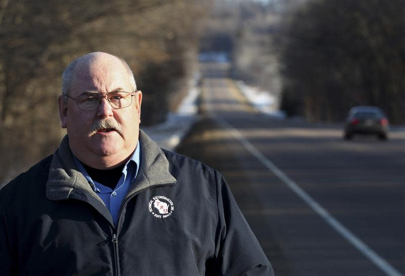 Retired Wisconsin State Trooper Keith Young in Elk Mound, Wisconsin