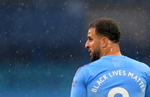 """The words """"Black Lives Matter"""" will appear on the back of all Premier League sides' shirts this weekend"""