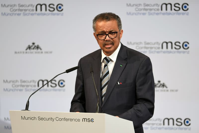 World must act fast to contain coronavirus - WHO's Tedros