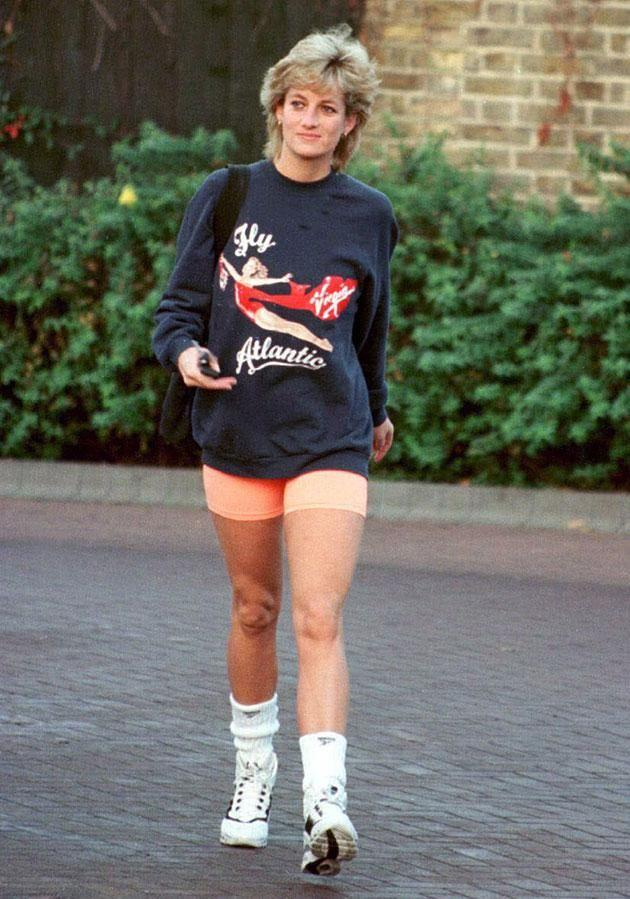 Diana brought casual preppy style to the fore. Photo: Getty.