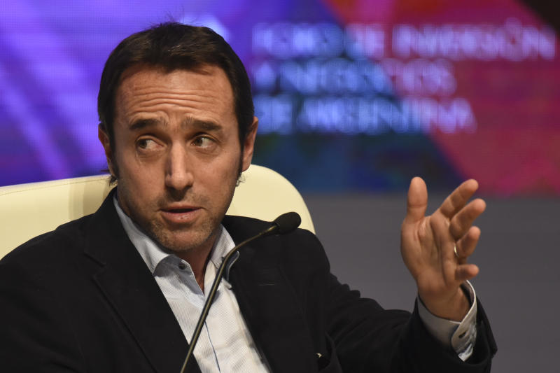 Marcos Galperin, fundador e CEO do Mercado Livre. Foto: EITAN ABRAMOVICH/AFP via Getty Images