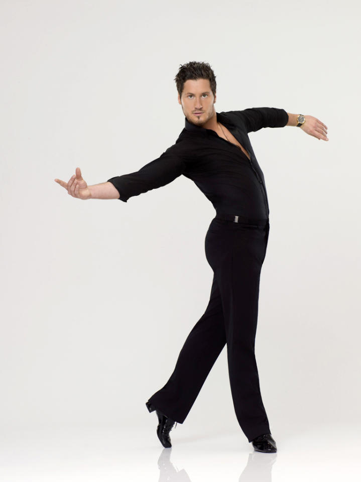 "Val Chmerkovskiy, who is returning for his second season as a professional partner, competes on Season 14 of ""<a href=""http://tv.yahoo.com/dancing-with-the-stars/show/38356"">Dancing With the Stars</a>."""
