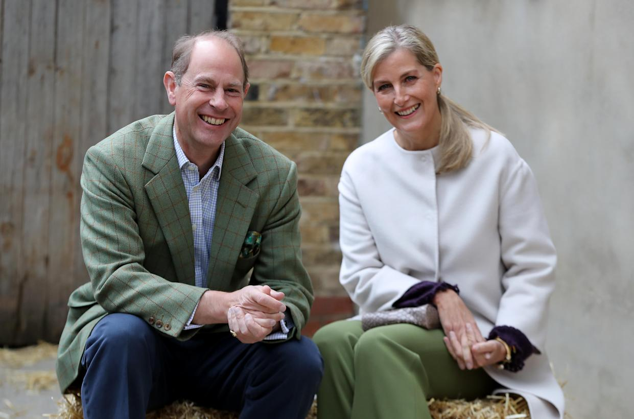 Prince Edward, Earl of Wessex and Sophie, Countess of Wessex, joked about not recogizing Oprah Winfrey, in a new interview. (Photo: Chris Jackson/- WPA Pool/Getty Images)