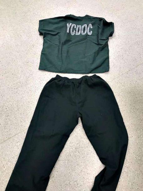 PHOTO: Photo posted to Facebook by the Yakima Police Dept, in Washington state, shows the uniforms the majority of the escaped inmates, who were possibly barefoot or wearing orange sandals, were last seen wearing. (Yakima Police Dept)