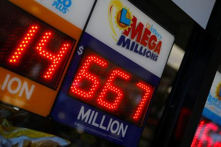 Numbers for Mega Millions drawing